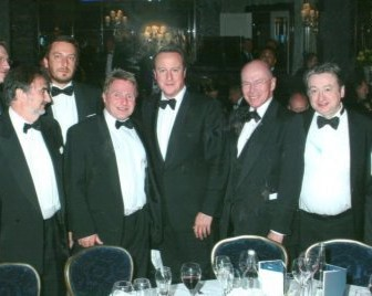 OGN senior management and other industry representatives at a meeting with Prime Minister David Cameron and MP Matthew Hancock