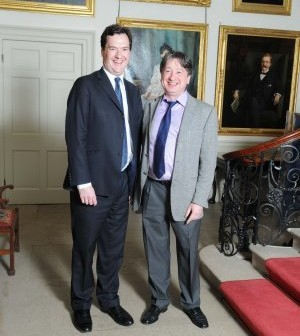 Alexander Temerko meeting with Chancellor of the Exchequer George Osborne