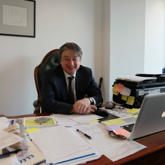 Alexander Temerko in his London offices