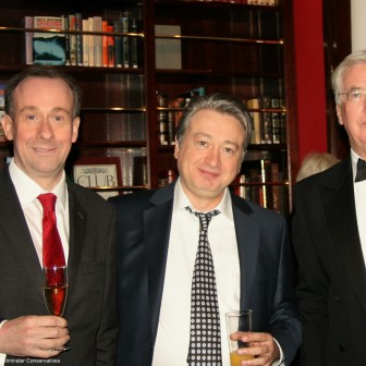 With Lord Callanan and Rt Hon Sir Michael Fallon MP at CLWCA Annual Dinner