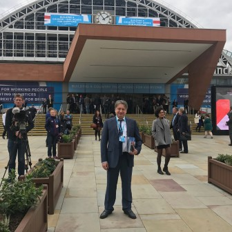 At the Conservative Party Conference 2017