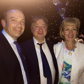 Supporting my friend Chris Heaton-Harris MP as well as celebrating the success of my Party comrade and Minister of State for Energy Andrea Leadsom MP