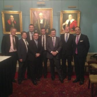 Alexander Temerko with Petro Poroshenko, Vitali Klitschko and Members of Parliament