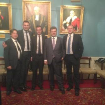 Alexander Temerko with Ukrainian delegation