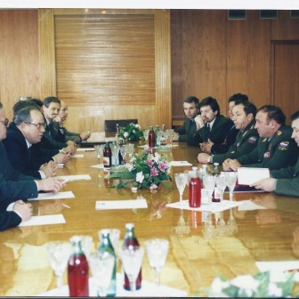 Meeting at the Russian Ministry of Defence