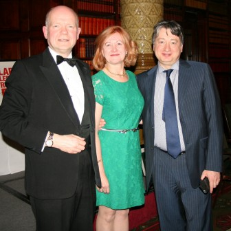 At  William Hague Farewell Dinner with William Hague and Victoria Borwick