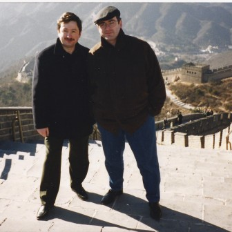 With Mikhail Khodorkovsky in China