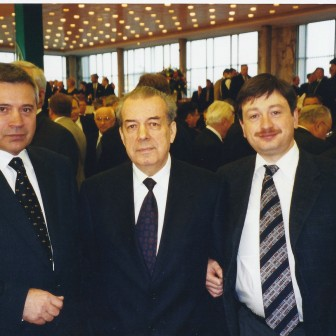 With Lukoil's Vagit Alekperov
