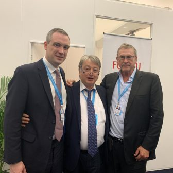 Together with the political Guru and Teacher Lord Michael Ashcroft